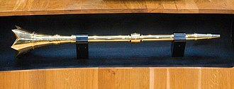 Senedd - The National Assembly for Wales ceremonial mace