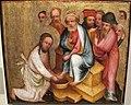 Maestro bertram di minden, lavanda dei piedi, amburgo 1380-90 ca..JPG
