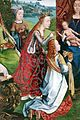 Maestro della leggenda di santa lucia, virgo inter virgines, 1475-1500 ca. (bruges) 05.JPG