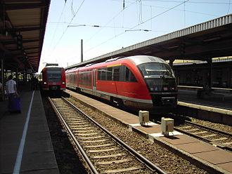 Magdeburg–Thale railway - Image: Magdeburg Hauptbahnhof 1629