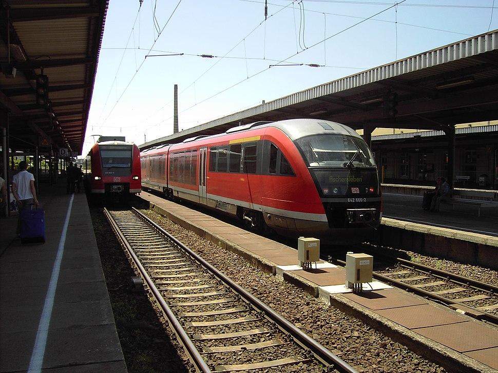 Magdeburg Hauptbahnhof 1629