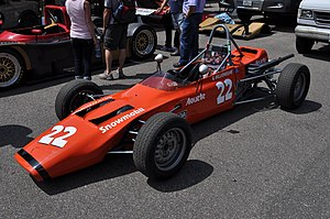 Gilles Villeneuve - Villeneuve's 1973 Magnum MkIII Formula Ford car, with which he won the Quebec Formula Ford championship.