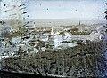 Magyar Királyság, Nagyenyed látképe. Jobbra a kollégium épülete, mögötte a vártemplom, balra a katolikus templom. Fortepan 86554.jpg