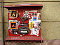 Mailbox with Stickers - Pest Side - Budapest - Hungary.jpg