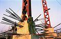Main Auditorium Under Construction - Convention Centre Complex - Science City - Calcutta 1994-11-03 458.JPG