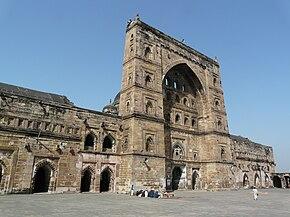 Main arcade facade, Jama Masjid, Jaunpur