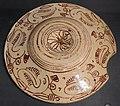 Maiolica ispano-moresca, piatto a lustro, manises, xv-xvi secolo ca. 4 reverso.jpg