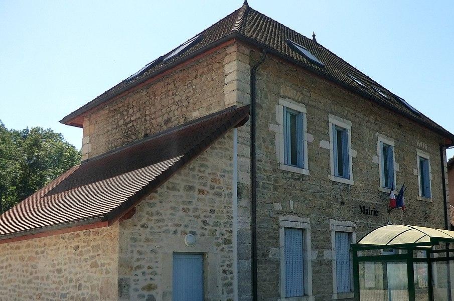 Mairie de Pugieu.