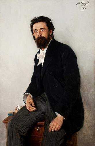 Vladimir Makovsky - Portrait of painter Sergei Korovin. National Museum in Warsaw, 1892
