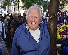 Malachy McCourt Occupy Wall Street 2011 David Shankbone 37.JPG