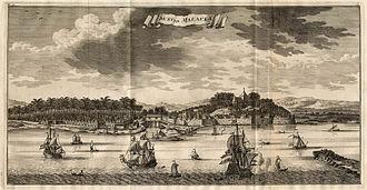 Dutch Malacca - Dutch Malacca, ca. 1724–26