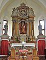 Malborghetto Pfarrkirche Hochaltar.JPG