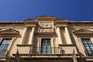 Auberge de Provence - Top floor of the auberge's façade