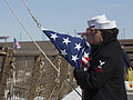 Man the Rails, Marines, sailors arrive in Boston 150313-M-VS306-413.jpg