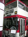 Manchester Corporation bus 1001 (HVM 901F), Museum of Transport in Manchester, 30 June 2007.jpg