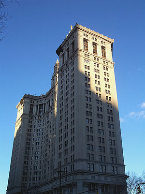 WPXN-TV - During its years of City ownership, WPXN-TV was housed in the Manhattan Municipal Building, located across from New York's City Hall.