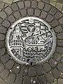 Manhole cover of Sakai, Osaka.jpg