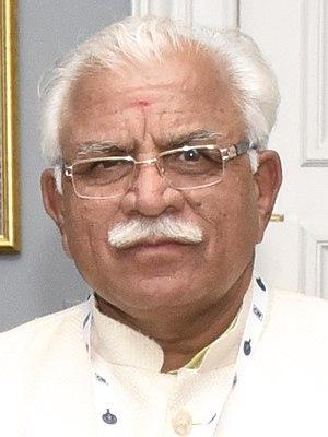 Manohar Lal Khattar - Image: Manohar Lal Khattar 2015
