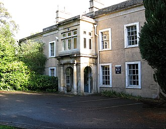 Royal United Hospital - Front of former Manor House