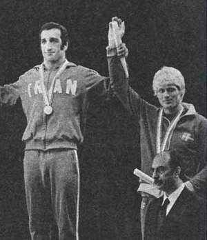 Jan Karlsson (wrestler) - Karlsson (right) at the 1973 World Championships