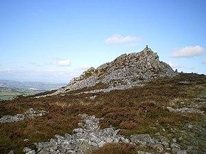 Stiperstones - Manstone Rock
