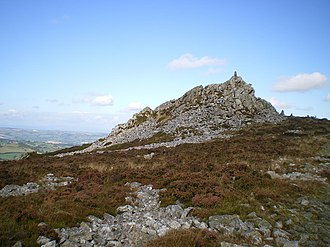 Stiperstones - Manstone Rock