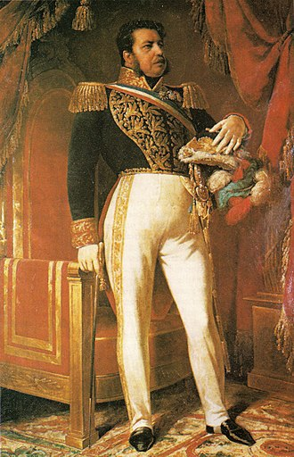 Battle of Yungay - General Manuel Bulnes Prieto, commander of the Chilean Expeditionary Force and the Restorer Army.