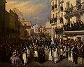 Manuel Cabral Aguado-Bejarano - Procesión en Sevilla, 1855.jpg