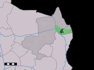 Denekamp - Image: Map NL Dinkelland Denekamp