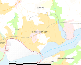 Map commune FR insee code 29235.png