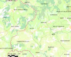 Map commune FR insee code 30009.png