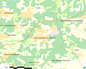 Map commune FR insee code 40284.png