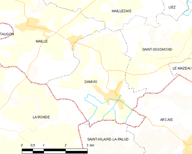 File:Map commune FR insee code 85078.png