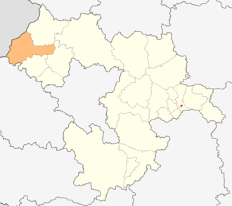 Dragoman Municipality - Image: Map of Dragoman municipality (Sofia Province)