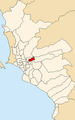 Map of Lima highlighting Santa Anita.PNG