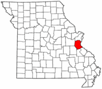 Map of Missouri highlighting Jefferson County.png