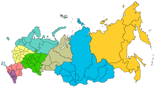 Districts And Regions Of Russian 55