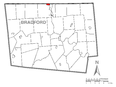 Image: Map of South Waverly, Bradford County, Pennsylvania Highlighted.png (row: 31 column: 12 )