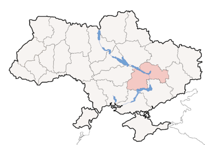 Map of Ukraine political simple Oblast Dnipropetrowsk.png