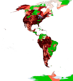 Map of coronavirus cases in Latin America by second-level administrative division.png