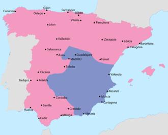 Spanish Civil War Wikipedia - Anti Fascismos Map Us