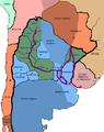 Mapa ARGENTINA 1840 expedicion de lavalle.png