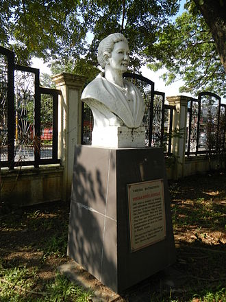 Marcela Agoncillo - Marcela M. Agoncillo (Batangas Provincial Capitol)