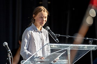 Greta Thunberg is the youngest TIME person of the year Marche pour le climat 27-09-2019 (Montreal) 14.jpg