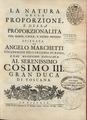 Marchetti - Natura della proporzione e della proporzionalita con nuovo, facile e sicuro metodo, 1695 - 4260143.tif