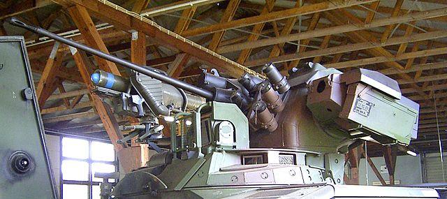Marder turret detail