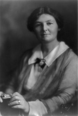 Margaret Bondfield - Margaret Bondfield in 1919
