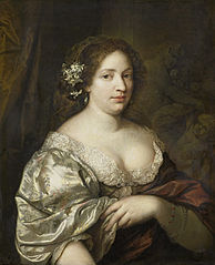Portrait of Margaretha Godin (d. 1694), wife of the artist