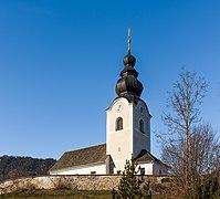 Maria Saal Pörtschach am Berg Pfarrkirche hll. Lambert und Ulrich 27122018 5701.jpg