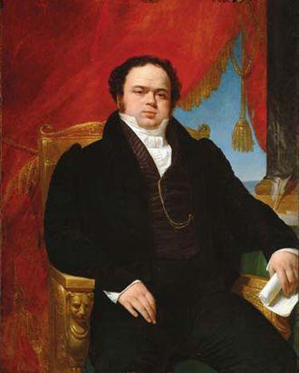 Mariano Egaña - Mariano Egaña.  Portrait by Raymond Monvoisin